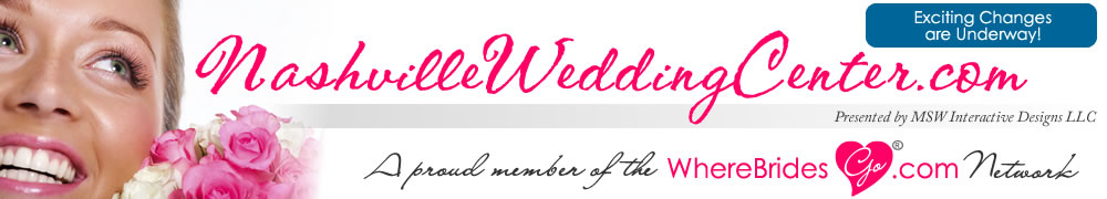 Plan your Nashville wedding with NashvilleWeddingCenter.com